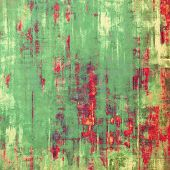 Old antique texture (for background). With different color patterns: yellow (beige); red (orange); gray; green