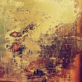 Grunge texture, may be used as background. With different color patterns: purple (violet); yellow (beige); brown; gray