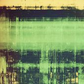 Old grunge antique texture. With different color patterns: yellow (beige); brown; green; black