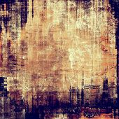 Old-style background, aging texture. With different color patterns: purple (violet); yellow (beige); brown; blue