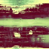 Old Texture or Background. With different color patterns: purple (violet); yellow (beige); green