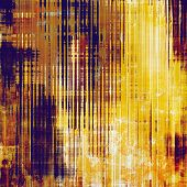 Abstract old background with rough grunge texture. With different color patterns: yellow (beige); brown; blue