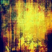 Rough vintage texture. With different color patterns: purple (violet); yellow (beige); brown; green