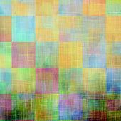 Old Texture or Background. With different color patterns: yellow (beige); brown; pink; blue; green