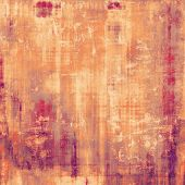 Aged grunge texture. With different color patterns: purple (violet); yellow (beige); pink; red (orange)