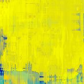 Grunge aging texture, art background. With different color patterns: yellow (beige); gray; blue