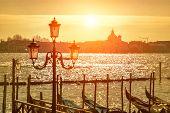Beautiful view of Venice - travel, romantic city.