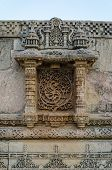 Vintage Crafted At Adalaj Stepwell In Ahmedabad, Gujarat, India