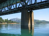 bridge on a lake