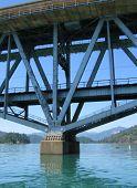 bridge on lake