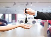 image of car key  - auto business - JPG