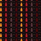 Seamless Repeating Pattern Of Robots