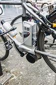 Electric Bicycle - E-bike Motor Detail