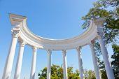 pic of sevastopol  - Sevastopol rotunda overlooking the Southern bay the Crimea Russia - JPG