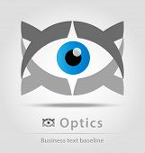Optics Business Icon