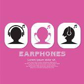 Earphones.