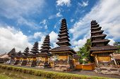 Taman Ayun Temple (bali, Indonesia) On A Beautiful Sunny Day