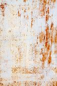White And Orange Rusty Background