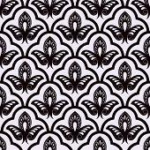 Vector seamless luxury pattern.
