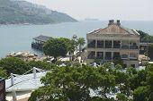 View to the Murray House, Hong Kong, China.