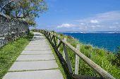Seaside walk
