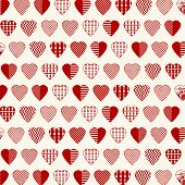 Abstract Heart Shapes