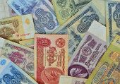 Background Of Soviet Rubles
