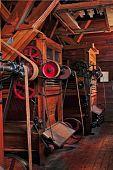 Antigua máquina de separador de molino de harina