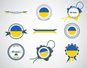 Made in Ukraine - seals, badges.