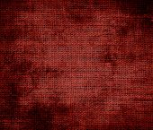 stock photo of red barn  - Grunge background of barn red burlap texture for design - JPG