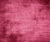 picture of blush  - Grunge background of blush burlap texture for design - JPG