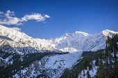 pic of karakoram  - Idyllic of mountain peak Northern area of Pakistan - JPG