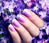 foto of  art  - Manicured nails Nail Polish art design - JPG