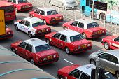 Taxis In Hong Kong