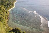 Tiro de em cima de dois amantes ponto, Guam