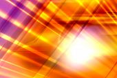 Glowing Abstract Background - Yellow, Orange & Violet