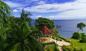 Wedding Pavilion In The Tropical Garden