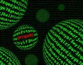 Spyware entre esferas de código de máquina
