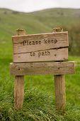 Keep To The Path