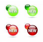 New sign ball label design