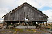 Weathered Barn in Edison