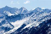 Постер, плакат: Снежные горные вершины на Аляске