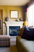 moderne geschmackvoll eingerichteten Wohnzimmer