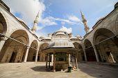 Prince Mosque Courtyard
