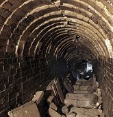 Interior Of An Old Pottery Kiln