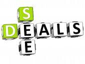 3D See Great Deals Crossword