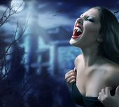 stock photo of vampire bat  - Vampire - JPG