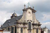 Historical Buildings In Mechelen poster