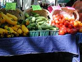 foto of farmers market vegetables  - farmers market vegetable market open air market - JPG