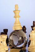 Chess And Globe